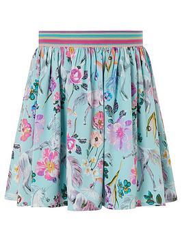 monsoon-girls-sew-armelle-unicorn-print-skirt-aqua