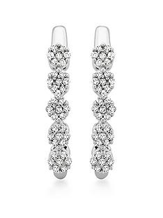 love-diamond-9ct-white-gold-diamond-hoop-earrings