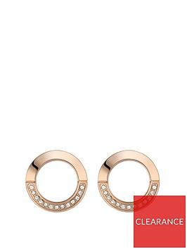 boss-ophelia-eternity-gold-plated-stainless-steel-swarovski-crystal-earring