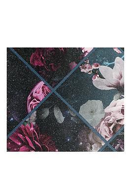 arthouse-floral-collage-glitter-vinyl-wallpaper
