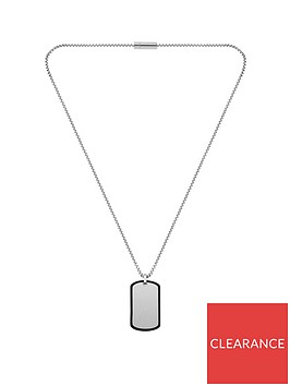 boss-boss-id-stainless-steel-chain-dog-tag-with-silicone-edge