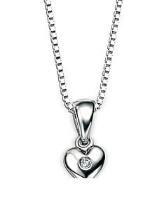 d-for-diamond-d-for-diamond-sterling-silver-childrens-heart-pendant-necklace