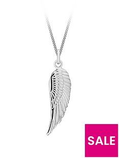 the-love-silver-collection-sterling-silver-simple-angel-wing-pendant-necklace