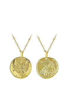 love-gold-sterling-silver-gold-plated-double-sided-coing-pendant-necklace