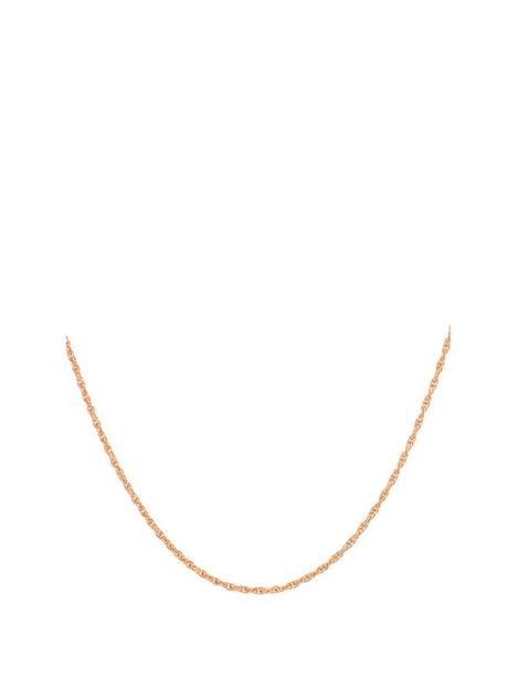 love-gold-9ct-rose-gold-prince-of-wales-chain-necklace