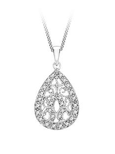love-gold-9ct-white-gold-diamond-teardrop-pendant-necklace