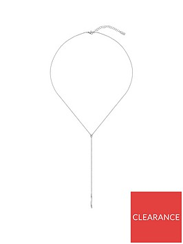 boss-signature-y-necklace-in-stainless-steel