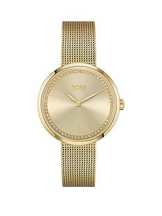 boss-praise-gold-stainless-steel-mesh-strap-gold-colour-crystal-dial-watch