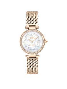 coach-park-rose-gold-mesh-strap-26mm-dial-ladies-watch