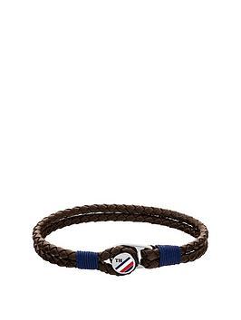 tommy-hilfiger-button-leather-bracelet