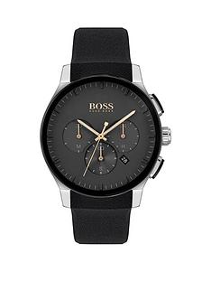 boss-1513759nbsppeak-sport-lux-black-silicone-strap-chronograph-black-dial-watch