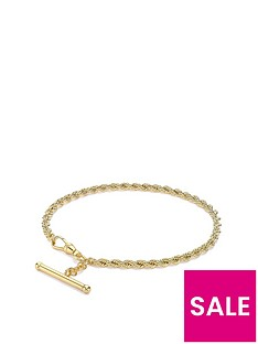 love-gold-9ct-gold-hollow-rope-albert-bracelet