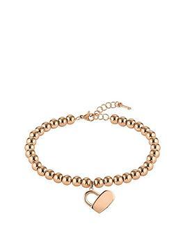 boss-boss-gold-plated-stainless-steel-beads-and-heartlock-bracelet