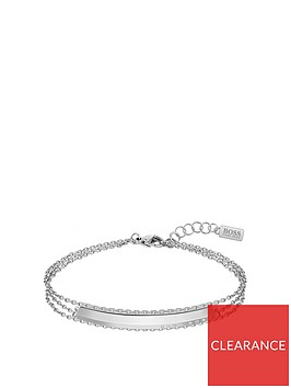 boss-insignia-rooftop-triple-chain-stainless-steel-bracelet