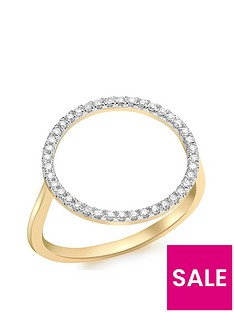 love-diamond-9ct-gold-diamond-circle-ring