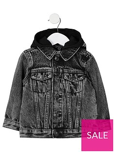 river-island-mini-boys-hooded-denim-jacket-black