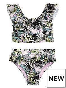 river-island-mini-mini-girls-palm-print-frill-bikini-set-pink