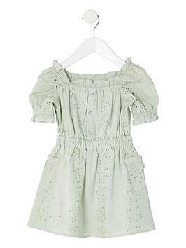 river-island-mini-girls-broderie-puff-sleeve-dress-green