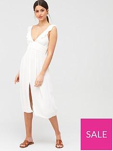 river-island-plunge-lace-insert-beach-dress-white