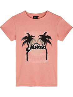 sofie-schnoor-girls-palm-tree-short-sleeve-t-shirt-pink