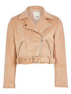 river-island-girls-suedette-biker-jacket