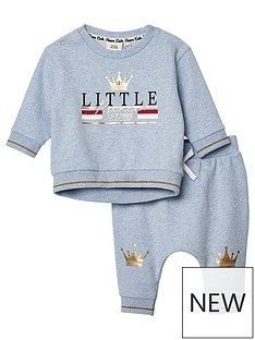 river-island-mini-baby-boys-prince-sweat-top-and-jog-pant-blue