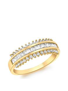 love-gold-9ct-gold-cubic-zirconia-ring