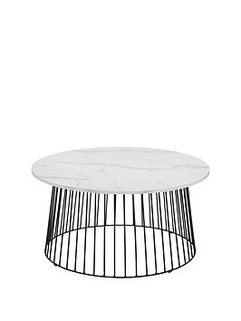 julian-bowen-broadway-marble-effect-coffee-table