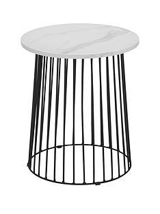 julian-bowen-broadway-marble-effect-side-table