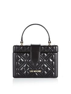 love-moschino-quilted-mini-trunk-cross-body-bag-black