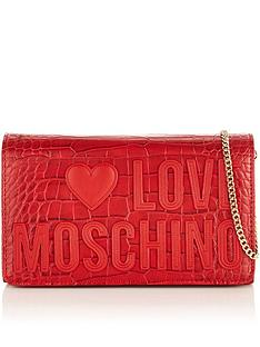 love-moschino-logo-croc-cross-body-bag-red