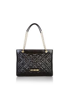 love-moschino-quilted-tote-bag-black