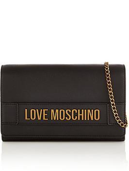 love-moschino-logo-fold-overnbspcross-body-bag-black