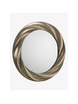 julian-bowen-andante-round-silver-wall-mirror