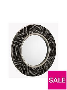 julian-bowen-adagio-round-studded-wall-mirror