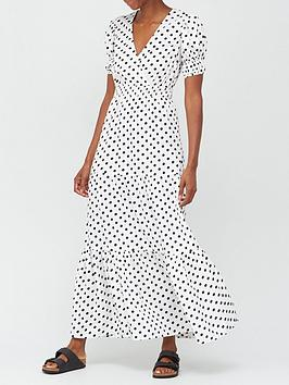 v-by-very-black-spot-maxi-dress-spot