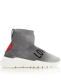 love-moschino-logo-sock-trainers-grey
