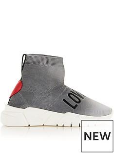 love-moschino-logo-sock-trainers-grey