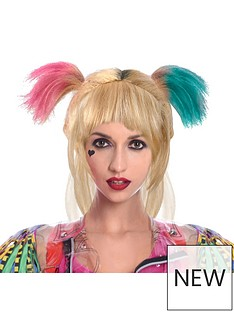 dc-super-hero-girls-harley-quinn-bird-of-prey-wig