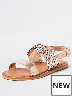 river-island-girls-sequin-gem-sandal--rose-gold