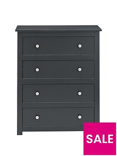julian-bowen-radley-4-drawer-chest-anthracite