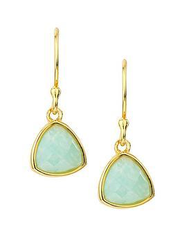 love-gem-gold-plated-sterling-silver-amazonite-drop-hook-earrings