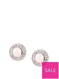 evoke-evoke-rose-gold-plated-sterling-silver-swarovski-crystals-77mm-round-stud-earrings
