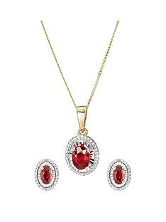 love-gem-9ct-yellow-gold-treated-ruby-diamond-jewellery-set