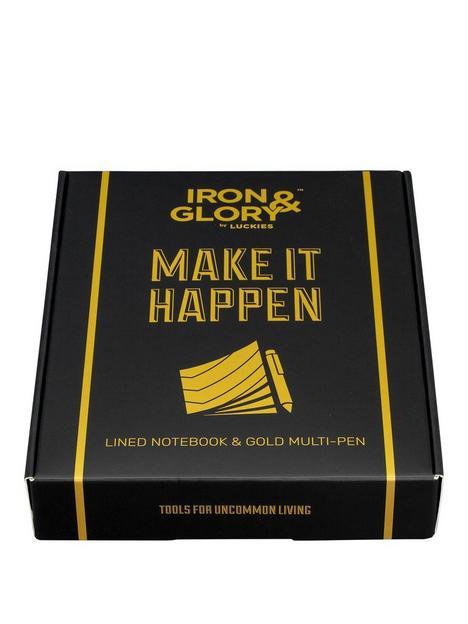 iron-glory-make-it-happen-notebook-amp-pen
