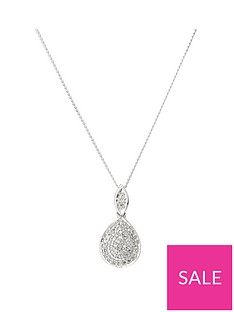 love-diamond-9ct-white-gold-007ct-diamond-pear-shaped-pendant-with-18-inch-curb-chain