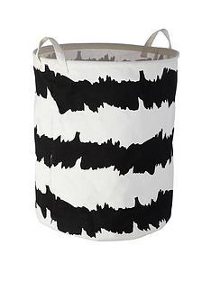 premier-housewares-printed-laundry-basket