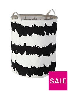 premier-housewares-printed-laundry-basket