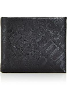 versace-jeans-couture-mens-all-over-tonal-logo-leather-billfold-wallet-black