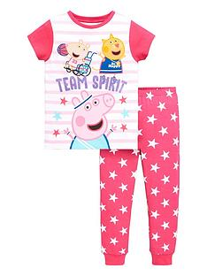 peppa-pig-girlsnbspteam-spirit-pjs-multi